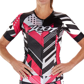 Zoot LTD Maillot de triathlon manches courtes Aero Femme, team